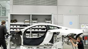 Tak powstawał pierwszy McLaren MP4-12C