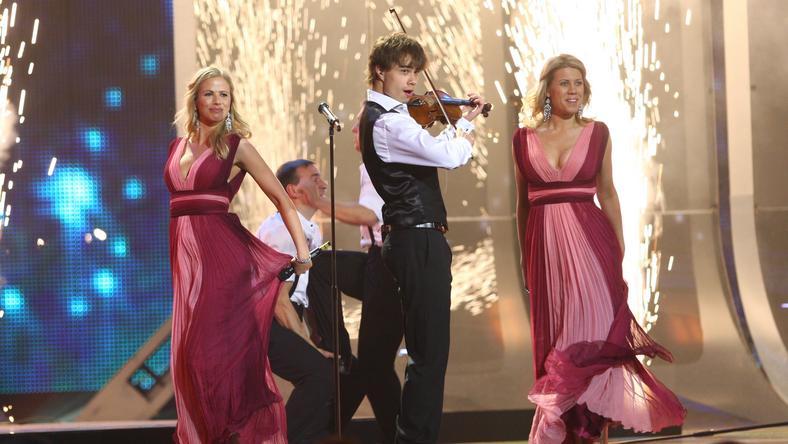 Alexander Rybak A Dal döntőjének extra produkciója / Fotó: Northfoto