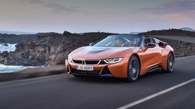 BMW i8 Roadster - sportowa hybryda bez dachu