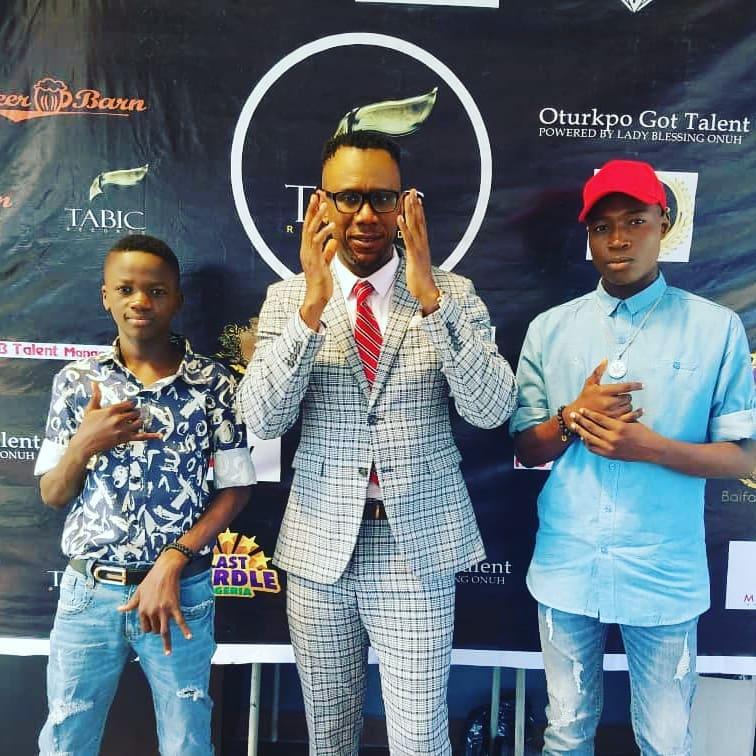 Pascal Atuma gives account on the success his Tabic records has made on its two artistes, Armani (left) and AOD (right)  [Instagram/pascalatuma]