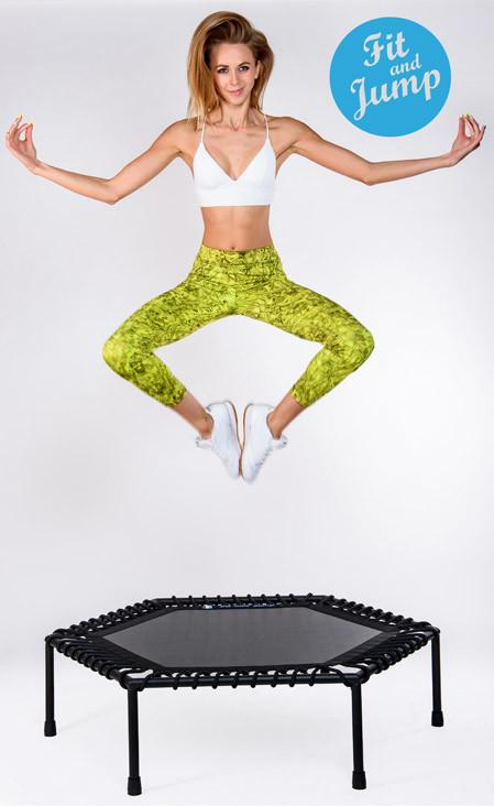 Fitness na trmapolinie