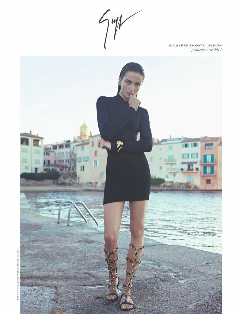 Andreea Diaconu / Giuseppe Zanotti