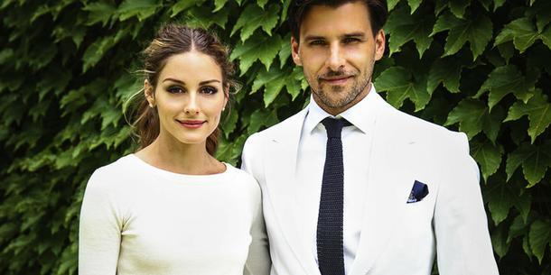 Olivia Palermo i Johannes Huebl po ślubie! Niezwykła suknia ślubna!