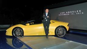 Los Angeles 2016: Lamborghini Huracan RWD Spyder