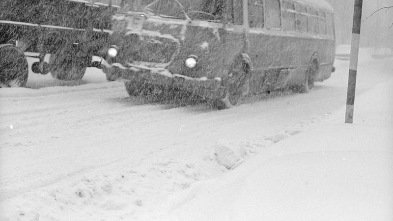 To był śnieg! Zobaczcie archiwalne zdjęcia Zimy Stulecia