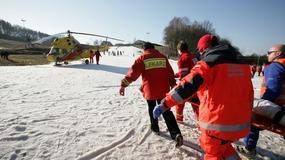 2,5 tys. poszkodowanych na stokach Tatr i Podhala podczas ferii zimowych