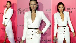 Best Look: Adriana Lima w sukience Ronald van der Kemp