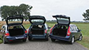 Opel Astra, Kia Ceed, Volkswagen Golf - Pakowne i szybkie kombinowanie