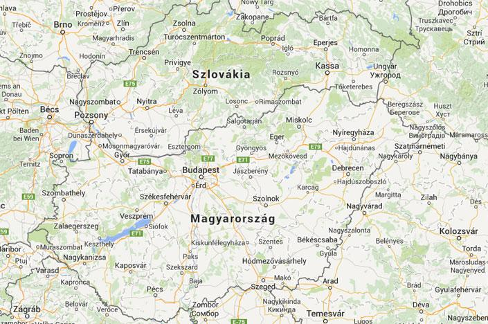 magyarország szlovákia térkép Szlovákiában már szeretik a magyarokat!   Blikk.hu magyarország szlovákia térkép