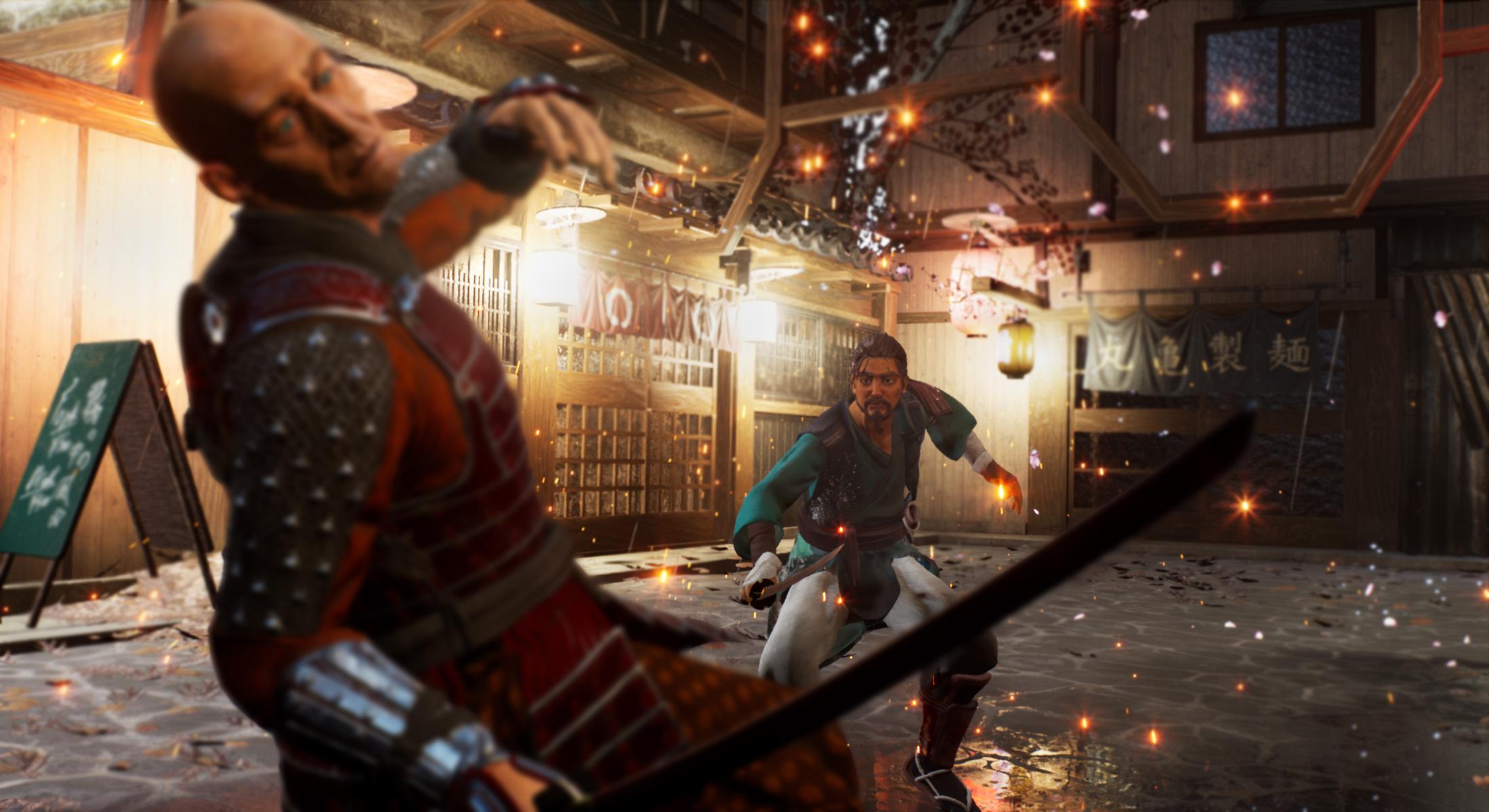 Záber z pripravovanej hry Die by the Blade láka na poriadnu dávku akcie.