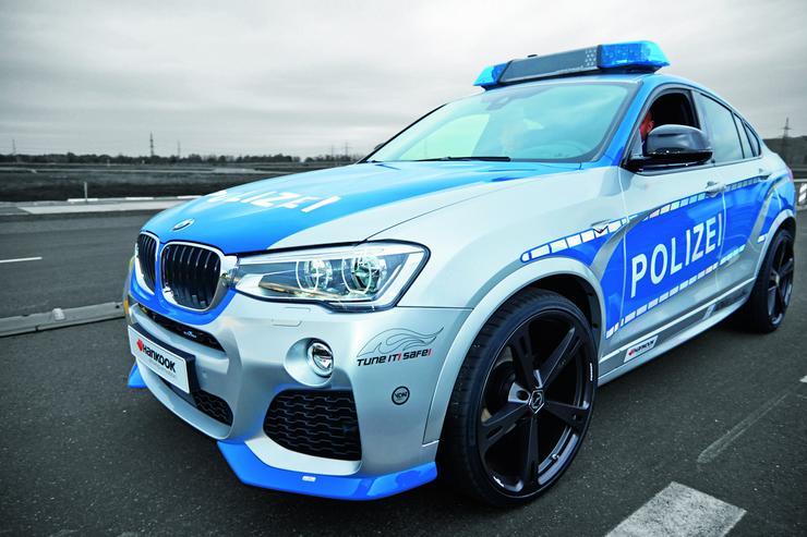 Bmw X4 Potężna Maszyna Dla Policji Moto
