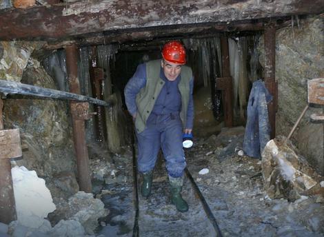 Jedna od jama rudnika magnezita