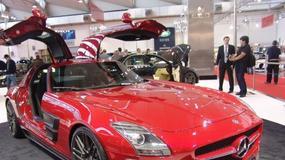 Brabus Widestar Mercedes SLS AMG gwiazdą w Essen