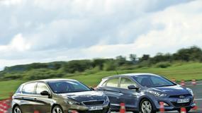 Hyundai i30 kontra nowy Peugeot 308: mała kierownica, duże aspiracje