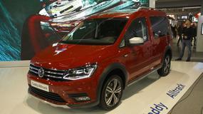 Volkswagen Caddy Alltrack - terenowy dostawczak (Poznań 2016)