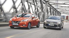 Nie tylko do miasta: Kia Rio kontra Nissan Micra