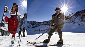 Austria - zima w Dolinie Stubai