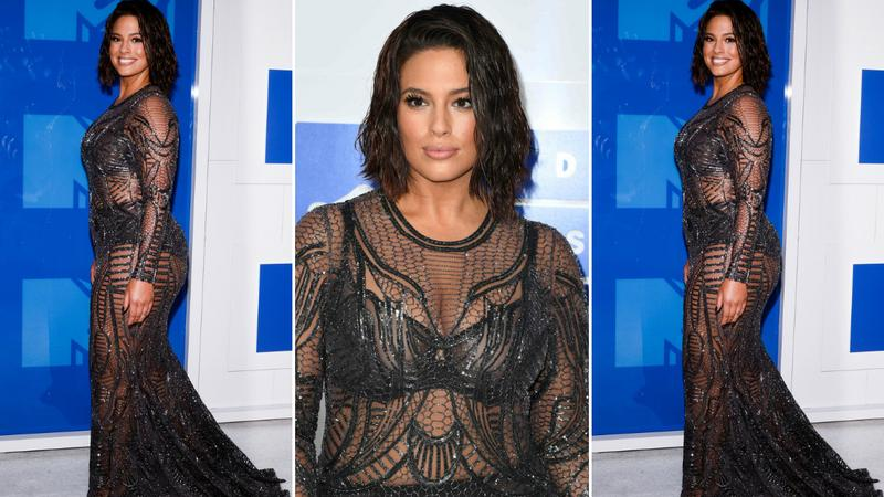 Ashley Graham na gali VMA 2016
