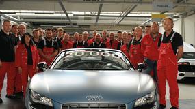 Audi R8 razy 20 000