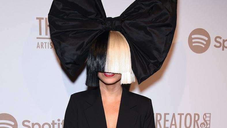Vajon Sia augusztusi, budapesti koncertjén megmutatja végre igazi arcát? / Fotó: Northfoto