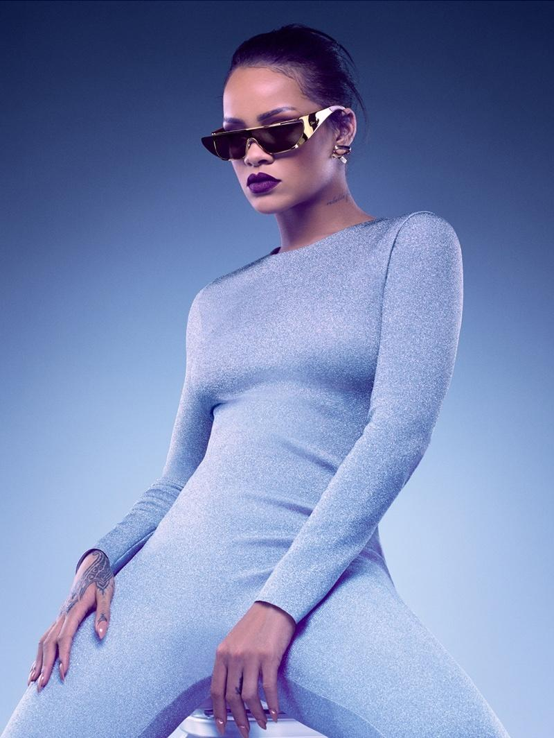 Okulary Rihanny dla Diora