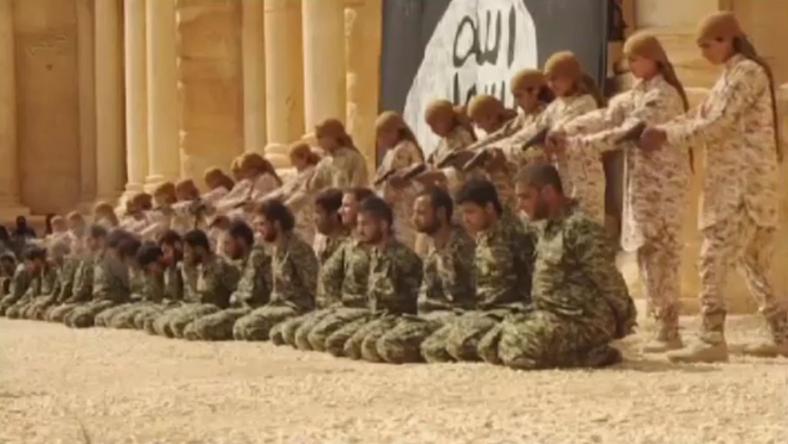 Nagyüzemben ölték az elfogott katonákat a dzsihadisták / Fotó: Nortfoto