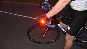Rękawice dla rowerzystów z nietypową funkcją