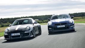 Porsche 911 GT3 RS 4.0 kontra Nissan GT-R: który okaże się lepszy na torze?
