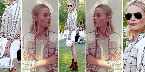 Best Look: Kate Bosworth na festiwalu Coachella