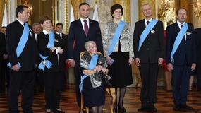 Prezydent Andrzej Duda wręczył Ordery Orła Białego. Sylwetki wyróżnionych