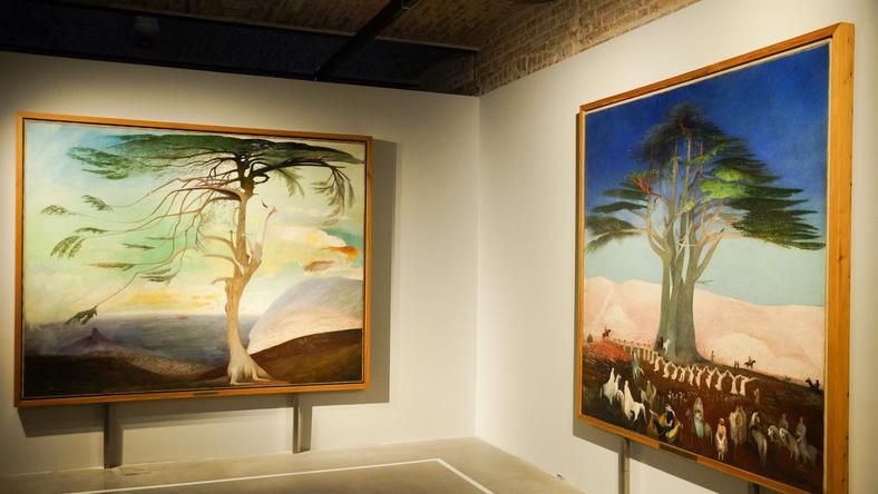 Csontváry képeit hét hónapon át lehetett megnézni a budapesti kiállításon / Fotó: MTI- Balogh Zoltán