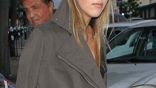 Córka Sylvestra Stallone została modelką