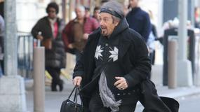 Al Pacino biegnie do teatru