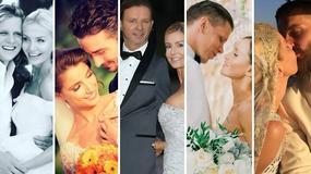 """Najgłośniejsze śluby 2016: oni powiedzieli sobie """"tak"""". Która panna młoda miała najpiękniejszą suknię ślubną?"""