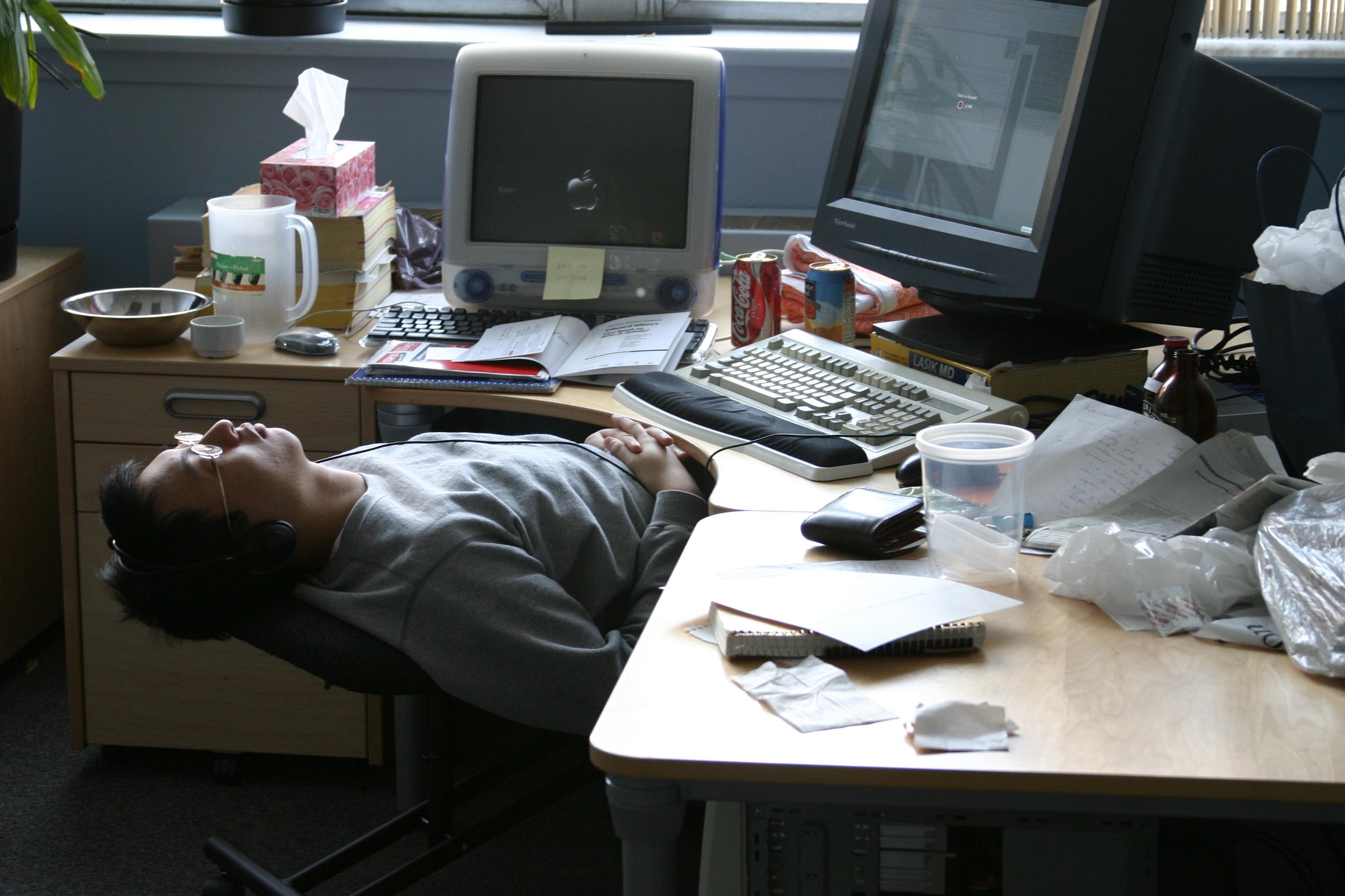 werken slecht voor je gezondheid