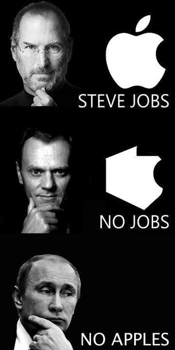 steve Jobs, no jabłek