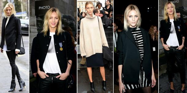 Paris Fashion Week Street Style: Anja Rubik