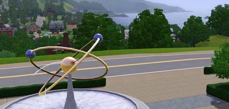 """Screen z gry """"The Sims 3"""""""