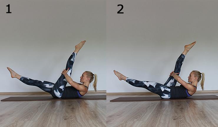 Ćwiczenia na Płaski Brzuch Nożyce Ćwiczenia na Płaski Brzuch