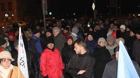 """Strajk obywatelski w Kielcach. """"Nie jesteśmy puczystami"""""""