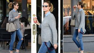Best Look: Heidi Klum z torebką Gucci