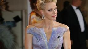 Przepiękna suknia księżnej Charlene