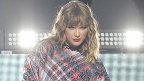 Taylor Swift odsłoniła nogi na koncercie. Trudno oderwać od niej wzrok