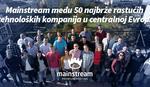 Mainstream među 50 najbrže rastućih tehnoloških kompanija u centralnoj Evropi