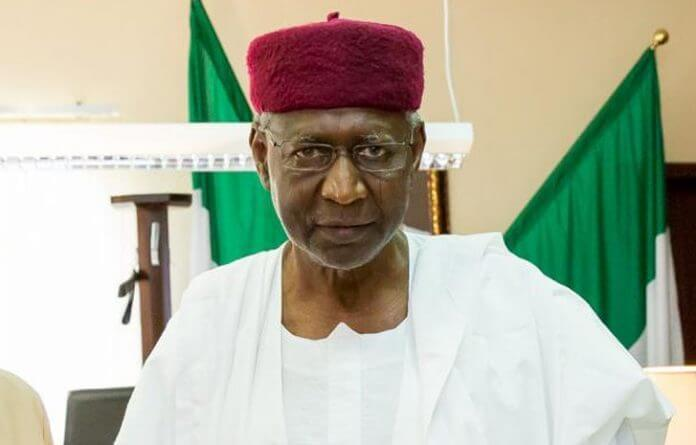 Chief of Staff to the President, Abba Kyari is accused of playing the role of the president .(Daily Post)
