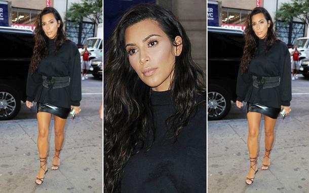 Best Look: Kim Kardashian w spódnicy Atsuko Kudo
