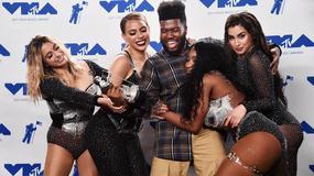 MTV Video Music Awards: głębokie dekolty, lateks i grzeczna Miley Cyrus