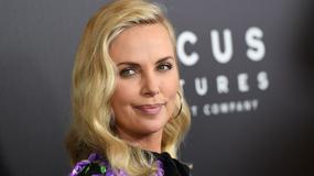 Charlize Theron kontra Kirsten Dunst. Kwieciste kreacje królują na CinemaCon 2017