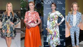 10 modnych stylizacji w kwiaty, które pojawiły się na salonach