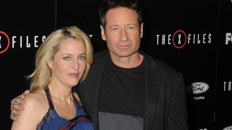 A színészek, Gillian Anderson és David Duchovny is szívesen bújnának újra Scully és Mulder ügynök bőrébe /Fotó: Northfoto